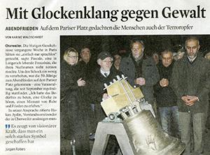 Artikel aus dem Kölner Stadtanzeiger vom 15. Januar 2015