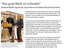 Ausschnitt von www.pax-bank.de