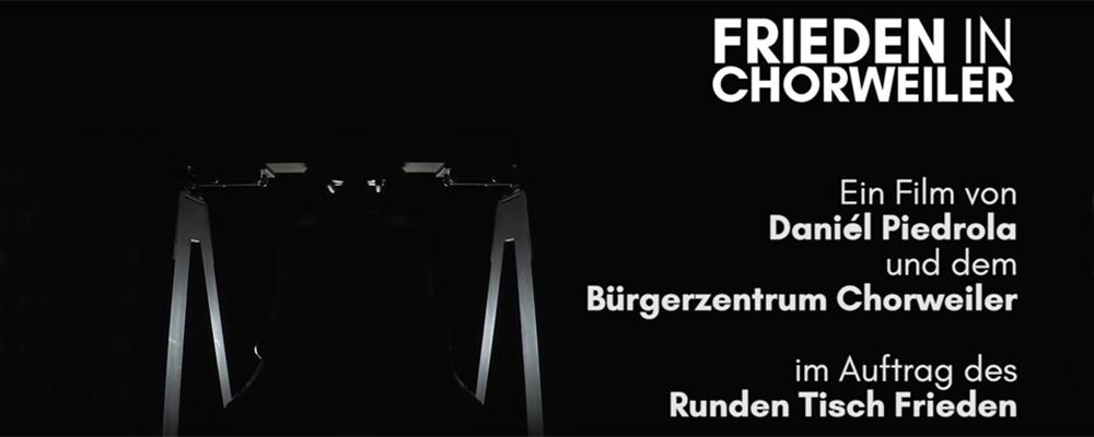 """Kurzfilm """"Frieden in Chorweiler"""""""